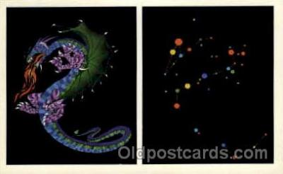 ast001028 - Draco The Dragon Astrology Postcard Post Card