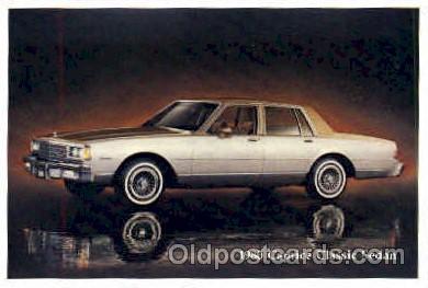 aut100018 - 1980 Caprice Classic Sedan Auto, Automobile, Car, Postcard Post Card