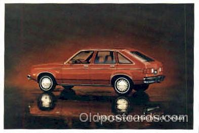 aut100019 - 1980 Chevette Hatchback Sedan Auto, Automobile, Car, Postcard Post Card
