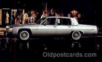 aut100030 - 1984 Cadillac Auto, Automobile, Car, Postcard Post Card