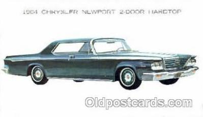 aut100059 - 1964 Chrystler Newport Hardtop Auto, Automobile, Car, Postcard Post Card