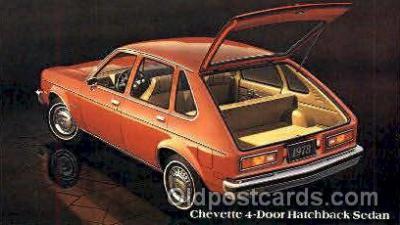 aut100063 - 1978 Chevette Hatchback Sedan Auto, Automobile, Car, Postcard Post Card