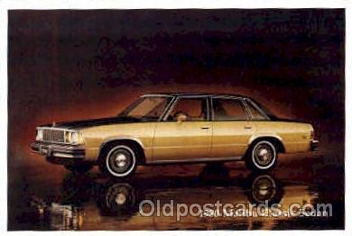 aut100076 - 1980 Malibu Classic Sedan Auto, Automobile, Car, Postcard Post Card