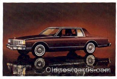 aut100092 - 1980 Caprice Classic Landau Coupe Auto, Automobile, Car, Postcard Post Card