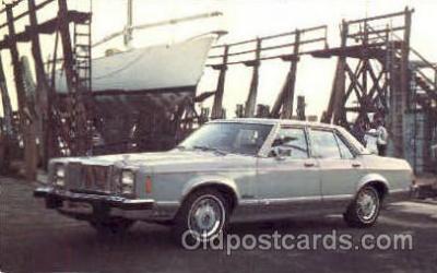 aut100104 - 1978 Monarch GHIA Auto, Automobile, Car, Postcard Post Card
