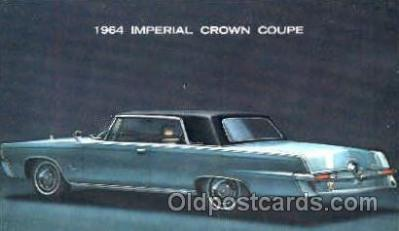aut100106 - 1964 Imperial Crown Coupe Auto, Automobile, Car, Postcard Post Card