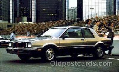 aut100110 - 1983 Pontiac Phoenix SJ Coupe Auto, Automobile, Car, Postcard Post Card