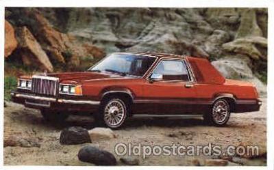 aut100113 - 1980 Cougar XR-7 Auto, Automobile, Car, Postcard Post Card