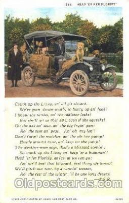 aut100193 - Lizzy, S.S.R. Auto, Automotive, Vehicle, Car, Postcard Post Card