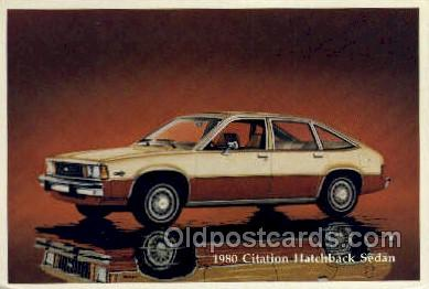 1980 citation hatchback sedan