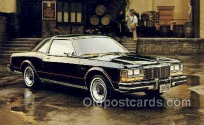 aut100268 - Dodge diplomat medallion Automotive, Car Vehicle, Old, Vintage, Antique Postcard Post Card