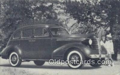 1937 Pontiac 6 Four Door Sedan
