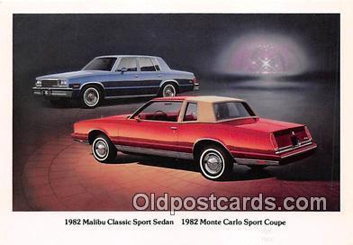 1982 Malibu Classic Sport Sedan, Chevy