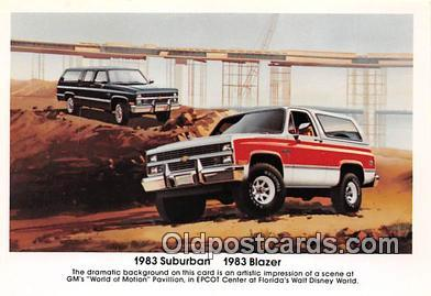 1983 Suburban, 1983 Blazer