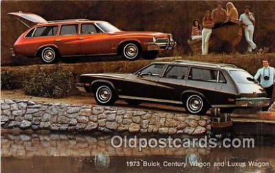 1973 Buick Century Wagon & Luxus Wagon