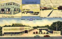 AUT100007 - Ernist Burwell Chevrolet Inc. North Church St. Spartanburg, South Carolina, USA Postcard Post Card