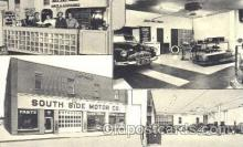 AUT100156 - South Side Motor Co. Stanley, Wisconsin, WI, USA Auto Dealer, Dealership Postcard Post Card
