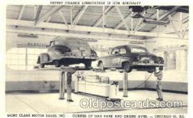 AUT100159 - Mont Clair Pontiac, Chicago, Illinois, IL, USA Auto Dealer, Dealership Postcard Post Card