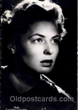 act002002 - Ingrid Bergman Postcard, Post Card