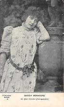 act002019 - Sara Bernhard Postcard, Post Card