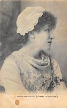act002125 - Sara Bernhardt Postcard Post Card