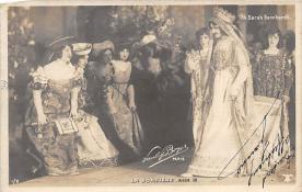 act002136 - Sara Bernhardt Postcard Post Card
