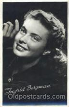 act002157 - Ingrid Bergman, Actress, Movie Star, Postcard Post Card