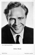 act002195 - Marlon Brando Actor, Movie Star, Postcard Post Card