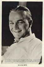 act002203 - William Boyd Actor, Actress, Movie Star, Postcard Post Card