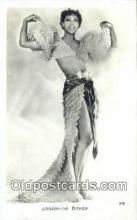 act002209 - Josephine Baker Postcard Post Card Old Vintage Antique