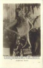 act002211 - Josephine Baker Postcard Post Card Old Vintage Antique