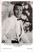 act002216 - Harry Belafonte Movie Actor / Actress, Entertainment Postcard Post Card