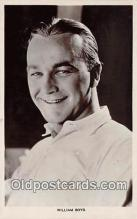 act002220 - William Boyd Movie Actor / Actress, Entertainment Postcard Post Card