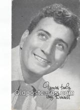 act002240 - Tony Bennett Movie Actor / Actress, Entertainment Postcard Post Card