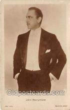 act002253 - John Barrymore Movie Actor / Actress, Entertainment Postcard Post Card