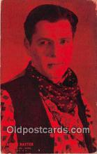 act002254 - Arner Baxter Movie Actor / Actress, Entertainment Postcard Post Card