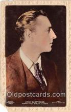 act002258 - John Barrymore Movie Actor / Actress, Entertainment Postcard Post Card