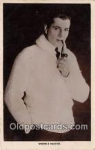 act002260 - Warner Baxter Movie Actor / Actress, Entertainment Postcard Post Card