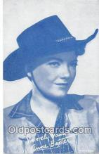 act002284 - Anne Baxter Movie Actor / Actress, Entertainment Postcard Post Card
