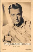 act002286 - Clive Brook Movie Actor / Actress, Entertainment Postcard Post Card