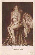 act002303 - Josephine Baker Black Entertainer Old Vintage Postcard