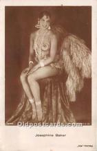 act002304 - Josephine Baker Black Entertainer Old Vintage Postcard