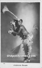act002315 - Josephine Baker Black Entertainer Old Vintage Postcard