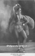 act002317 - Josephine Baker Black Entertainer Old Vintage Postcard