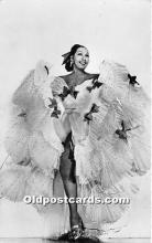 act002319 - Josephine Baker Black Entertainer Old Vintage Postcard