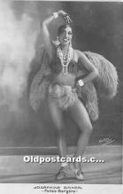 act002322 - Josephine Baker Black Entertainer Old Vintage Postcard
