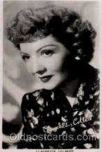 act003023 - Claudette Colbert Postcard, Post Card