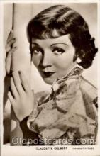 act003054 - Claudette Colbert Postcard, Post Card