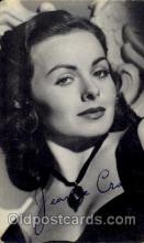 act003066 - Jeanne Crain Postcard, Post Card