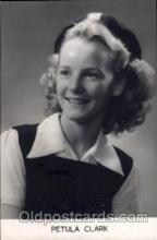 act003068 - Petula Clark Postcard, Post Card